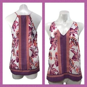 Cremieux Floral Sleeveless Top